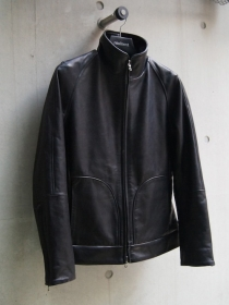 VADEL horse leather truck jacket