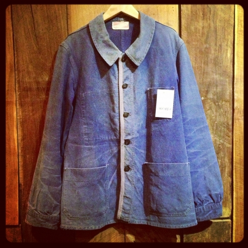 men's  50's French work jacket写真