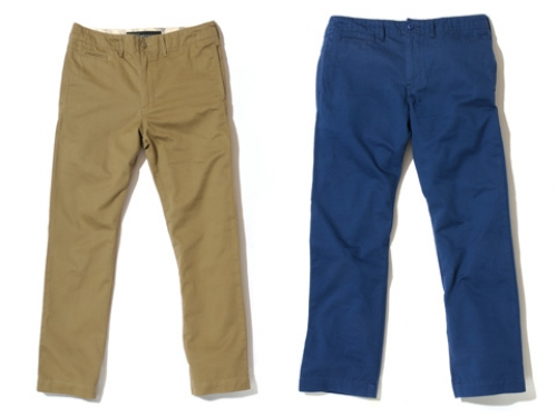【Back Channel】CHINO PANTS ¥14,490写真