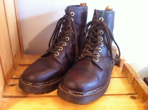 Dr.Martens 8ホール (ブラウン) USED写真