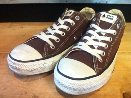 converse ALL STAR OX (ブラウン) USED写真