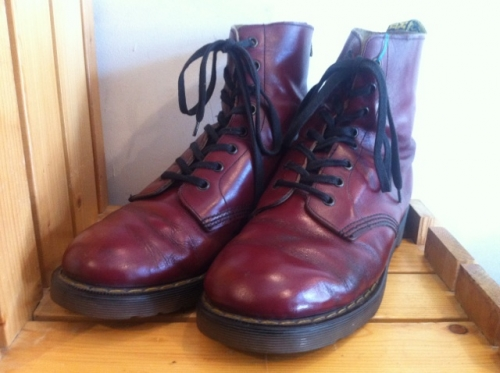 Dr.Martens 8ホール (チェリーレッド) USED写真