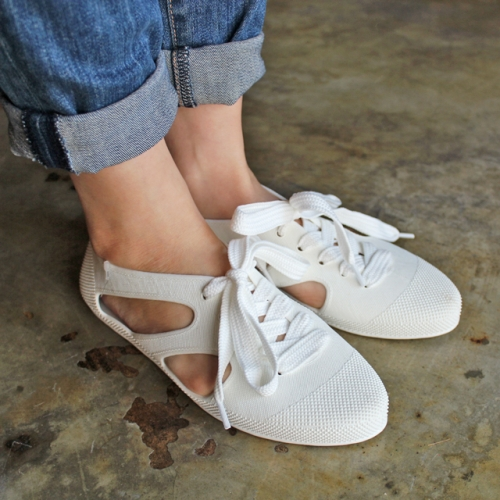 F-Troupe - Jelly Bathing shoes (white)写真