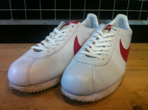 NIKE CLASSIC CORTEZ LEATHER 09 (ホワイト/レッド) USED写真