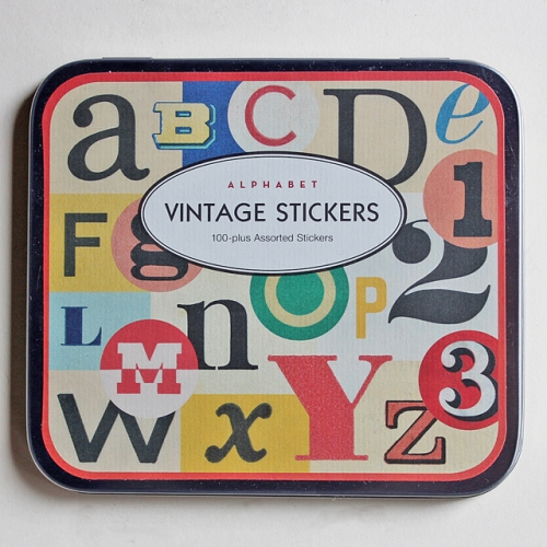 "Cavallini & Co - Stickers ""ALPHABET"" / ステッカーセット写真"