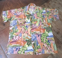 40'S SAVAGE メニュー柄HAWAIIAN SHIRTS!