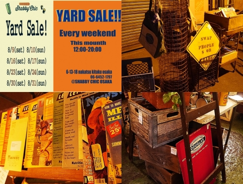 WEEKEND YARDSALE写真