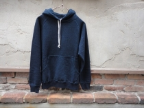 DUBBLEWORKS Lot 84013 INDIGO HOODED SWEAT