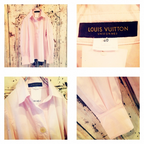 Ladies 『LOUIS VUITTON』 Pullover L/S blouse. 写真