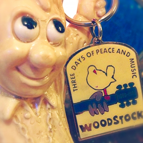 1989 WOODSTOCK KEY-HOLDER写真