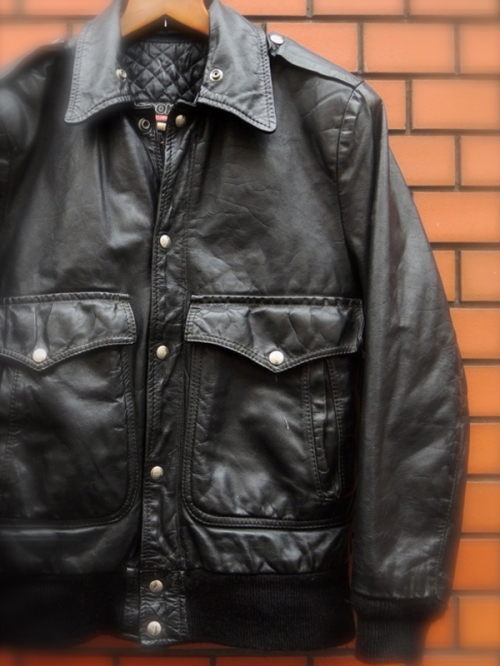 1970~80's BROOKS leather jacket写真