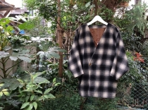 Shadow Check Pattern Design Tailord Jacket  Size:L  Price:¥10580...