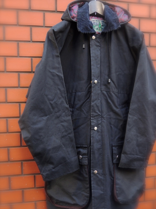 COUNTRY WEAR oiled coat写真