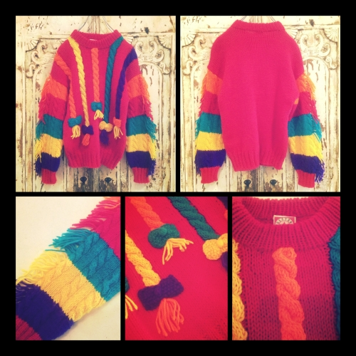 lady's Design cable knit!!!写真