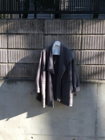 Asymmetry Wool Coat  Size:Free  Price:¥15980