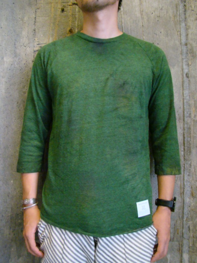 "|【HIGH TIDE ハイタイド】EAGLET 3/4 Tee ""green""写真"