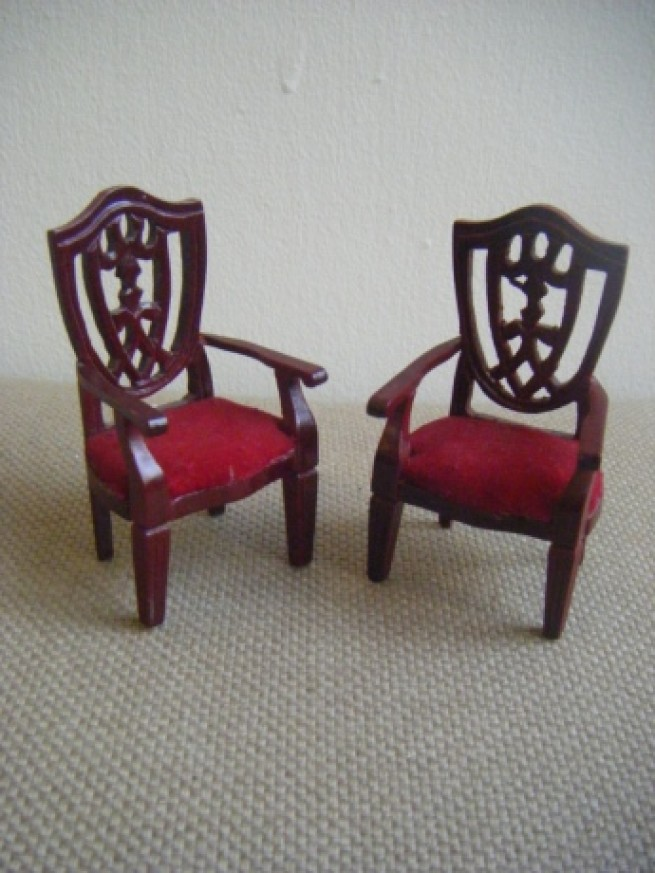▼ ARM CHAIR SET2/WN写真